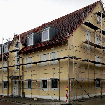 Maler- und Lackierbetrieb Graw Fassade Gerüst