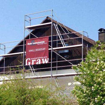 Maler- und Lackierbetrieb Graw Fassade