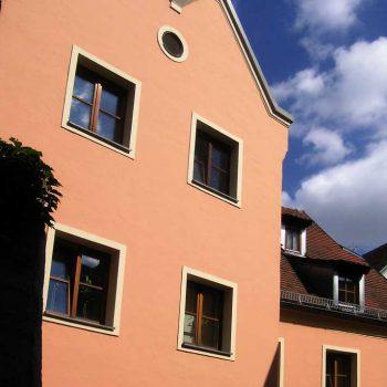 Maler- und Lackierbetrieb Graw Fassade Regensburg Altstadt