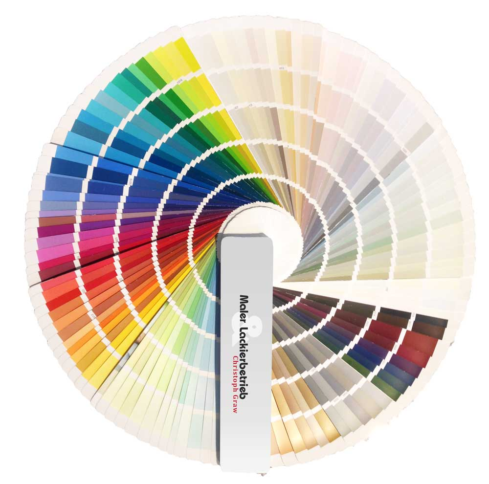 Maler- und Lackierbetrieb Graw Farbfächer